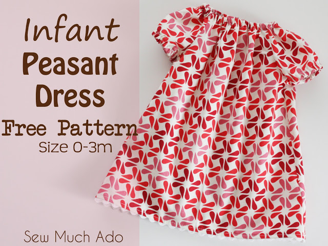 92c46b2b3901 10 Must-Sew Free Baby Dress Patterns - Sew Much Ado