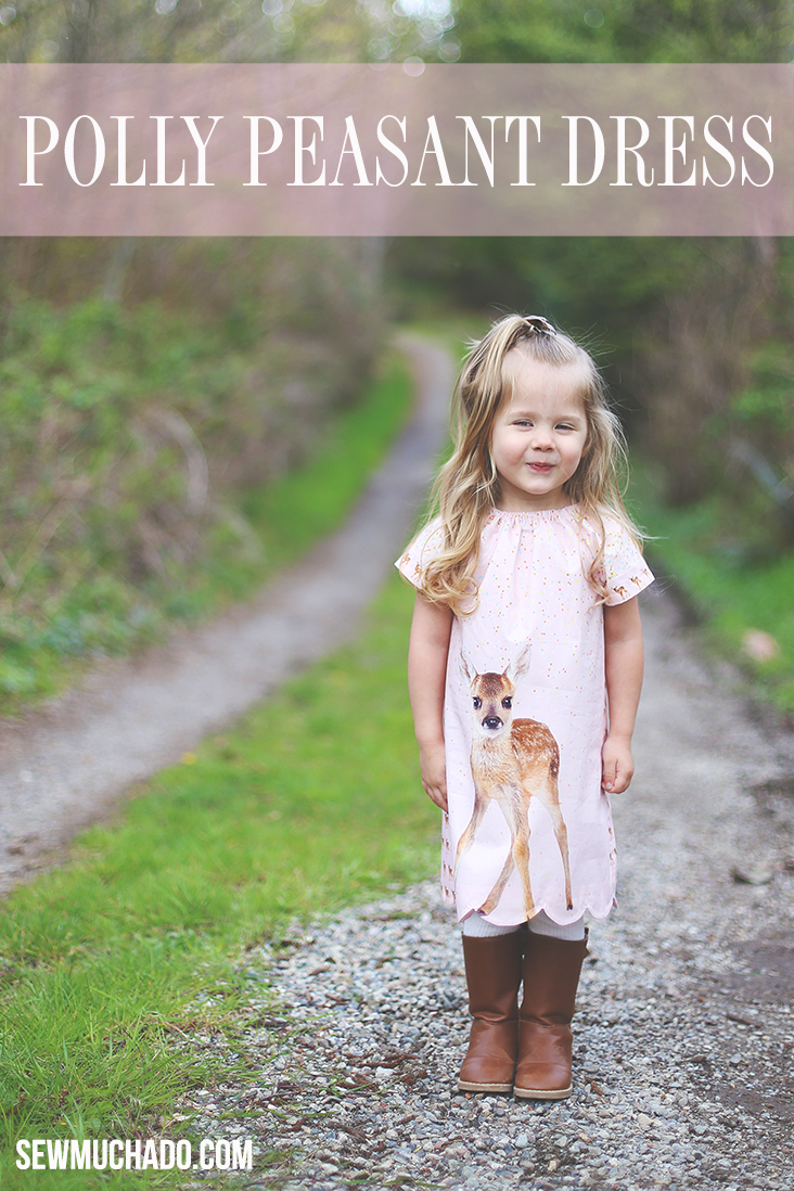 girl's peasant dress pattern