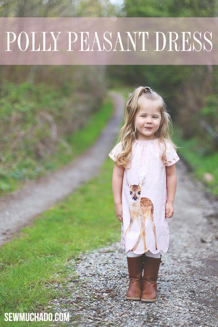 girl's peasant dress pattern