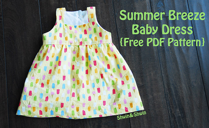 10 Must-Sew Free Baby Dress Patterns - Sew Much Ado