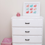 Little White Dresser Makeover
