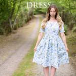A Ladies Caroline Dress for Vintage May
