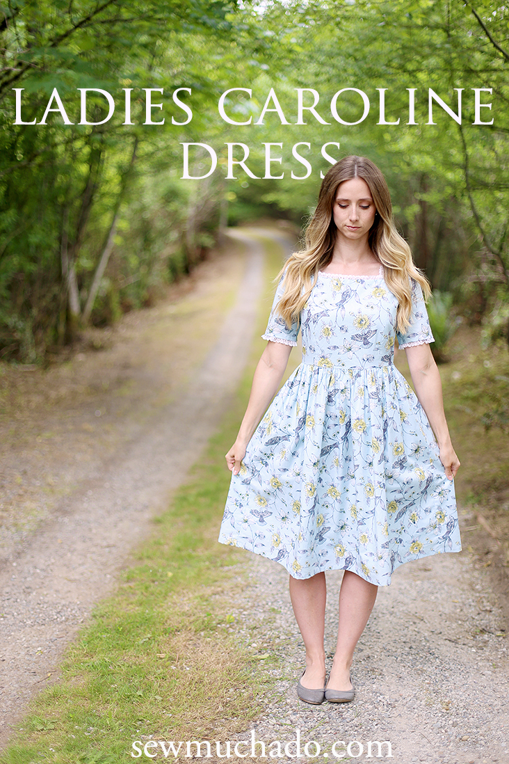 ladies caroline dress pattern