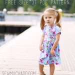 Suncadia Free Girl's Knit Dress Pattern
