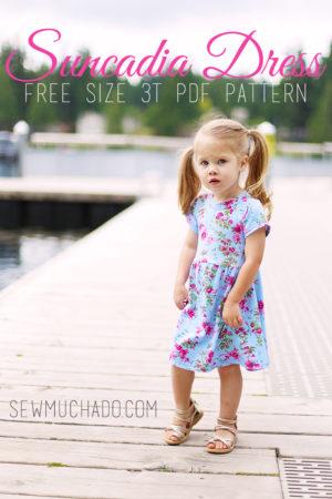free girls knit dress pattern