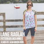Floral + Camo Lane Raglan