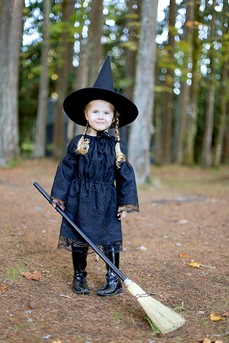 ... DIY Witch Costume and Free Witch Hat Pattern  sc 1 st  Sew Much Ado & Free Witch Hat Pattern + DIY Witch Costume - Sew Much Ado