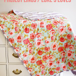 Project Linus Floral + Stripe Quilt