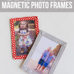 Bias Tape Magnetic Photo Frame