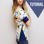 Triangle Insert Top Tutorial and $50 Giveaway!