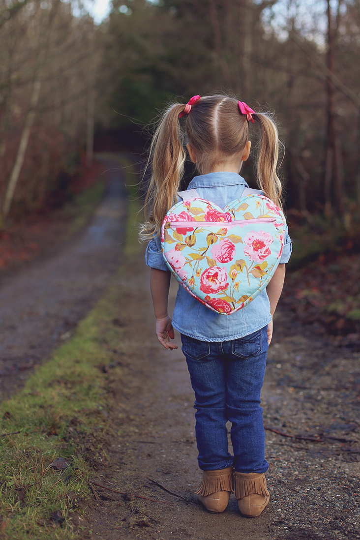 Heart Backpack Free Pattern Sew Much Ado