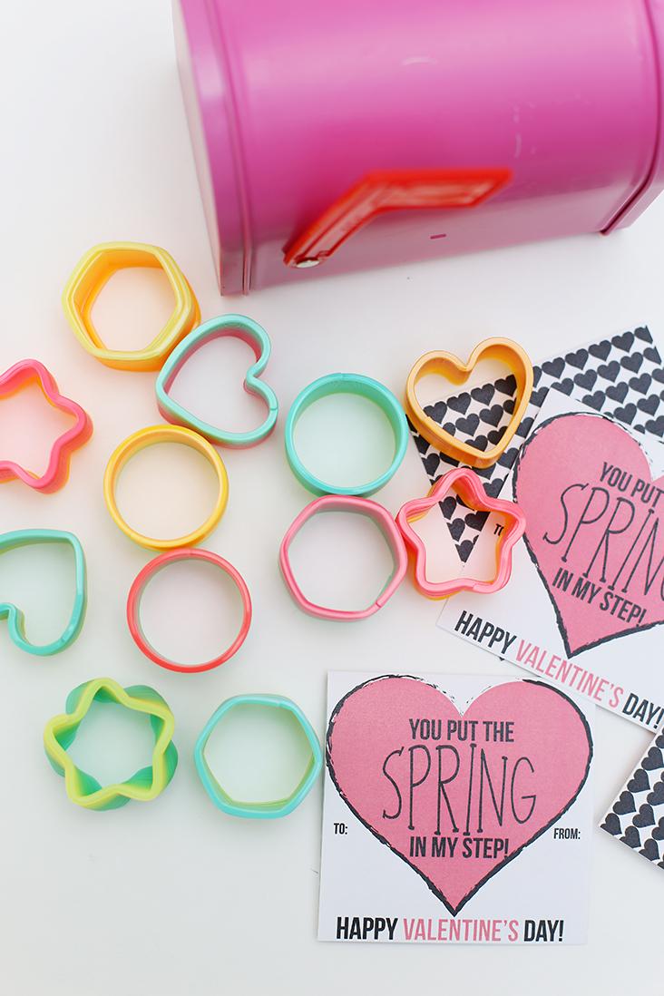 Mini Springs Free Valentine Printable
