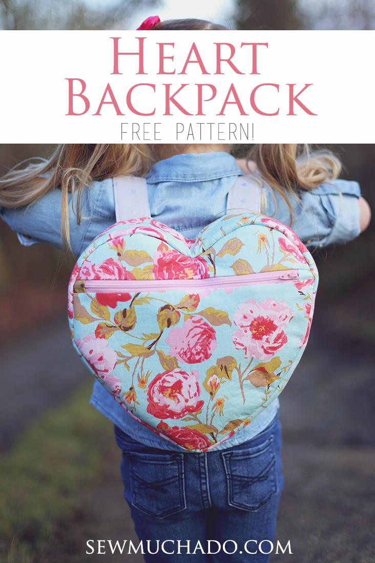 Heart Backpack Pattern
