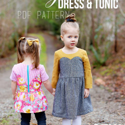 Magrath Dress & Tunic PDF Pattern