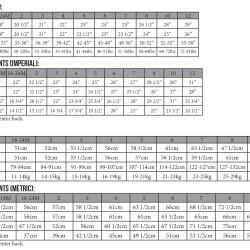 Magrath Dress & Tunic Size Charts