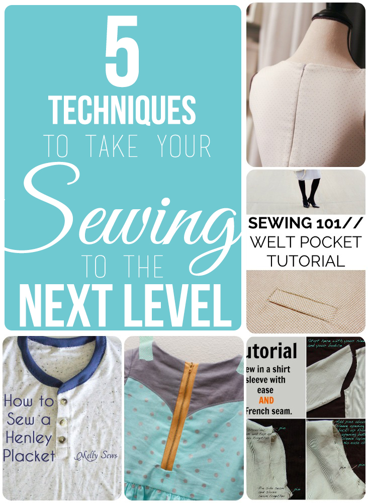 sewing techniques collage