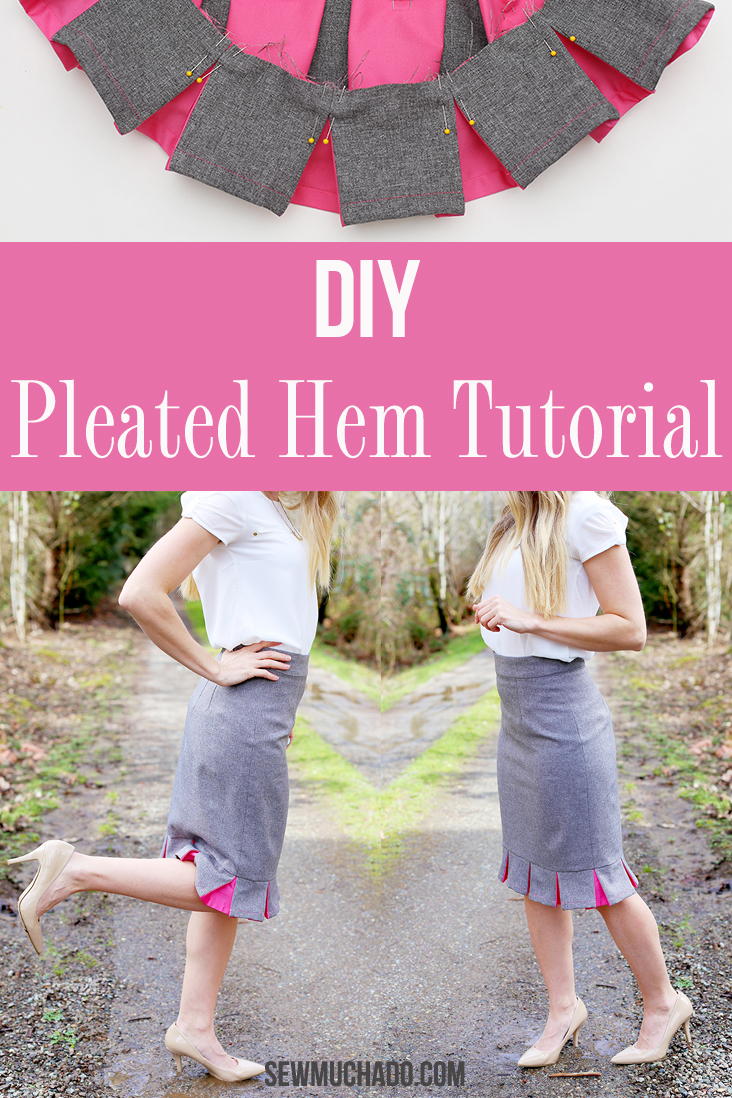 DIY Pencil Skirt Tutorial