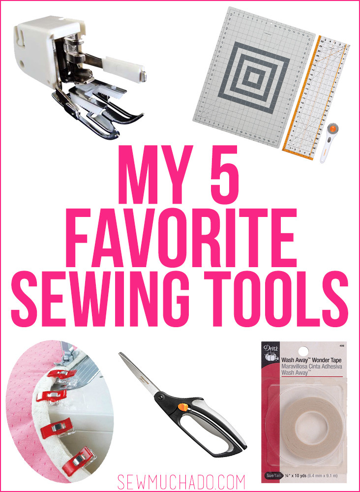 5 Favorite Sewing Tools