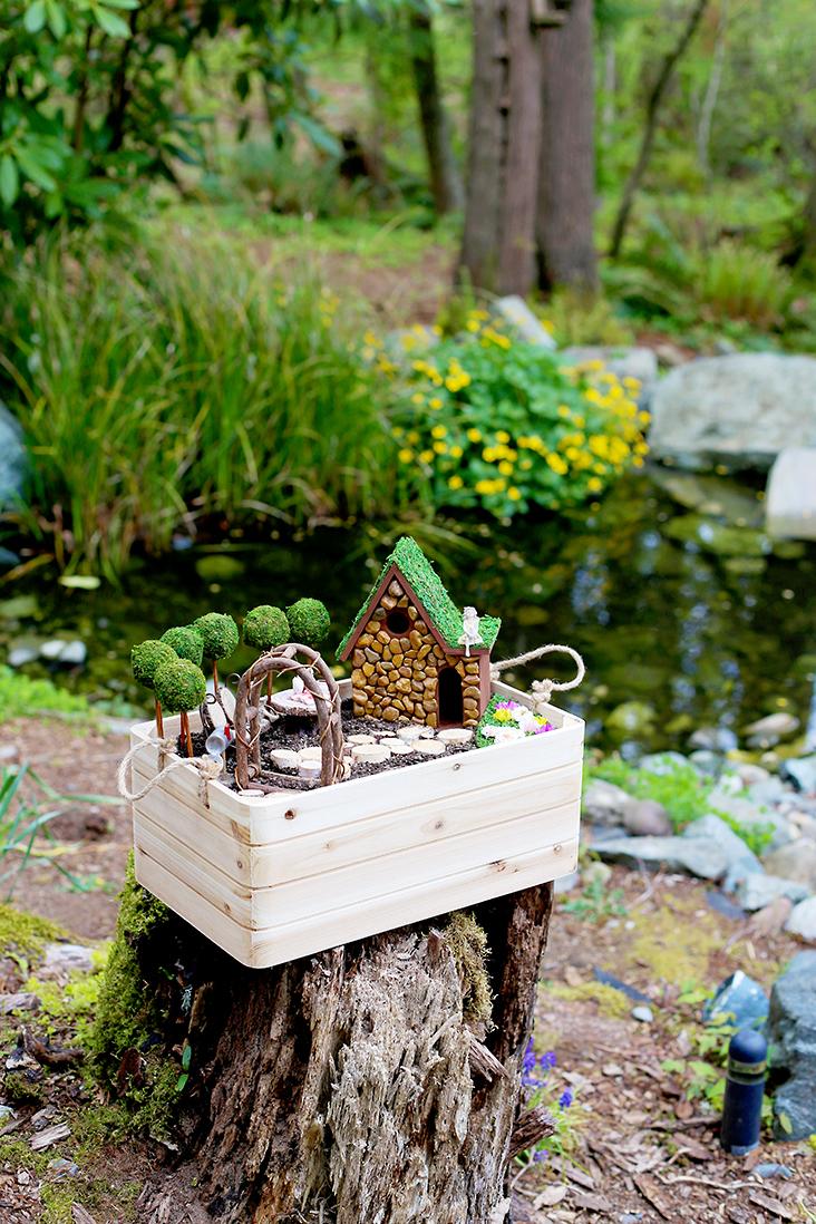 Diy Fairy Garden And Fairy House Tutorial Sew Much Ado