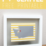 I Heart Seattle Free Printable