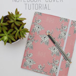 Personalized Notebook Cover Tutorial