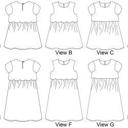 Sullivan Dress PDF Pattern