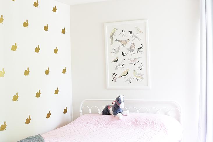 DIY Vinyl Bunny Wall