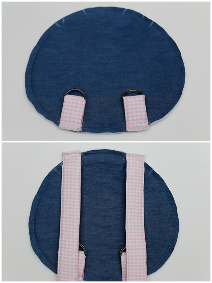 cat backpack free pattern
