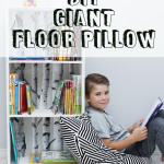 Giant Floor Pillow Tutorial