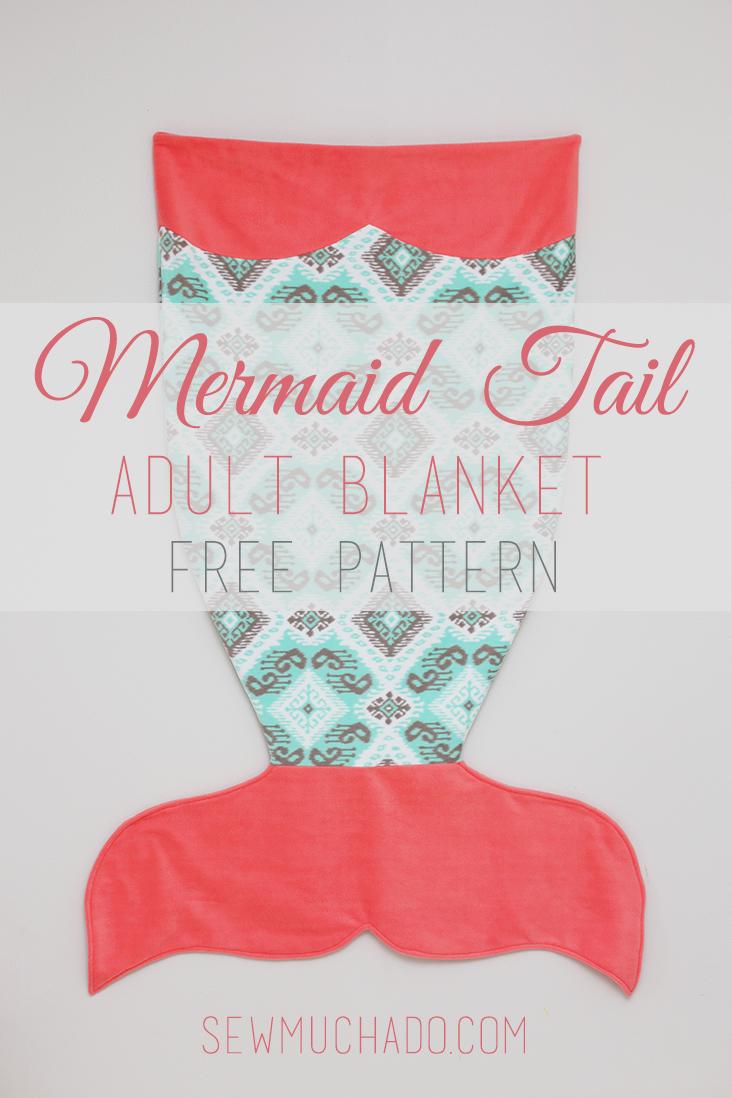 mermaid tail pattern free