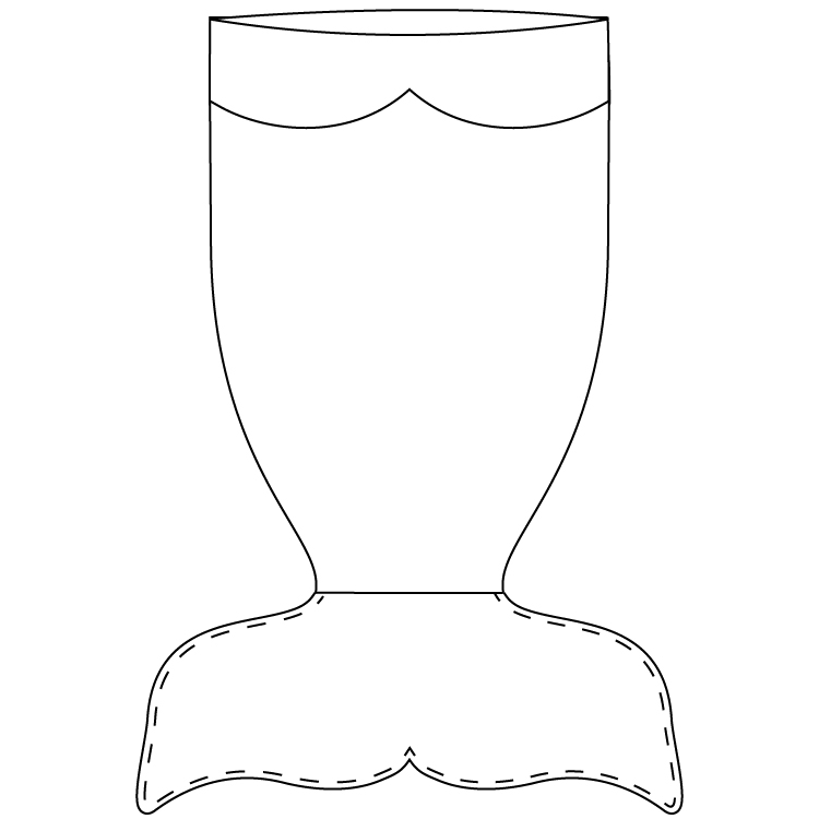 Impertinent image intended for mermaid templates printable