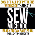 Black Friday Mega Pattern Sale!