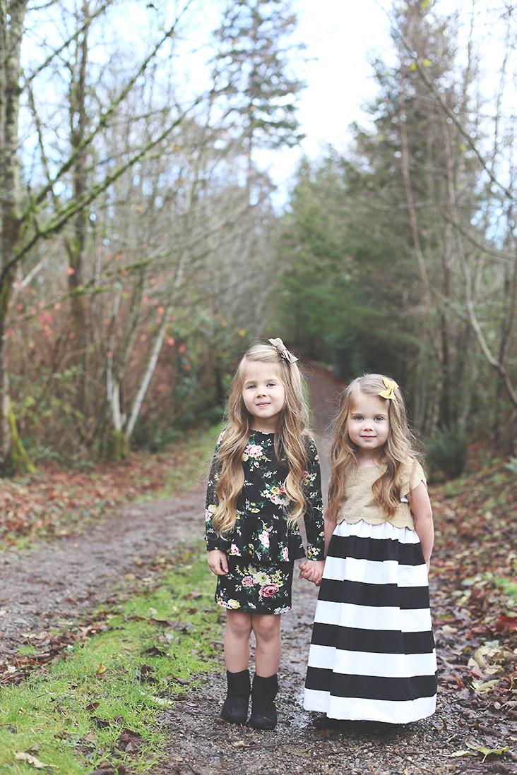 Girl's Christmas Dress Patterns