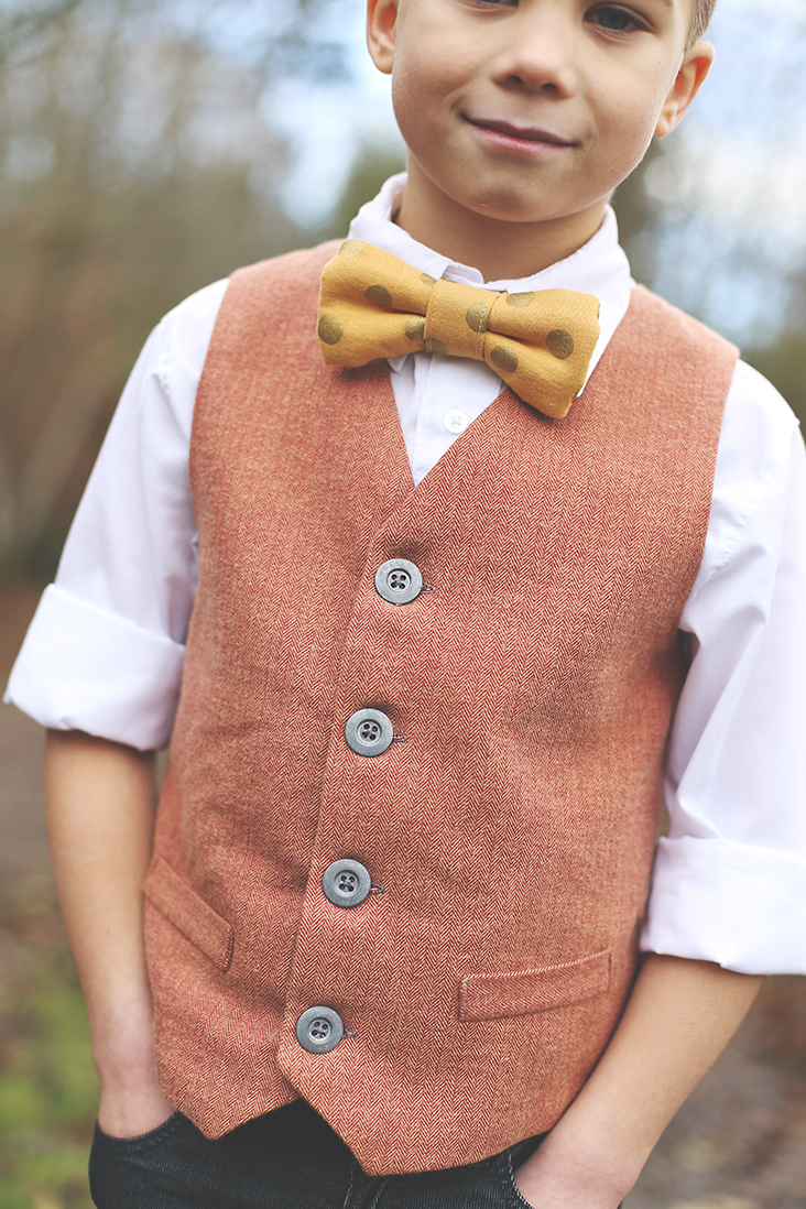 Boy's Vest Pattern