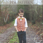 Boy's Vest Pattern – A Schoolboy Vest for Christmas