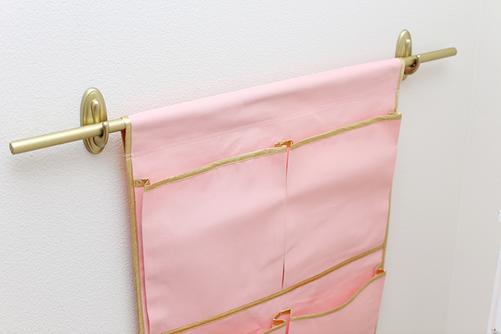 DIY Wall Pocket Organizer