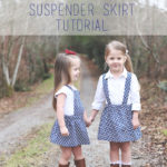 Pinafore Tutorial + Suspender Skirt Tutorial