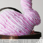 Faux Chenille Bunny Free Pattern