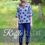 DIY Ruffle Sleeve Tutorial