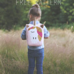 Unicorn Backpack Free Pattern - with Cricut Explore Air 2