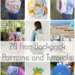 20 Free Backpack Patterns and Tutorials