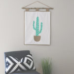 Cactus Quilted Wall Hanging Free Pattern