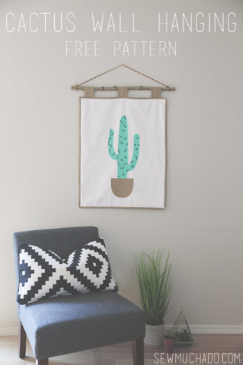 Cactus Wall Hanging Tutorial