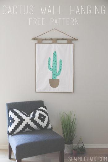 Cactus Wall Hanging Tutorial