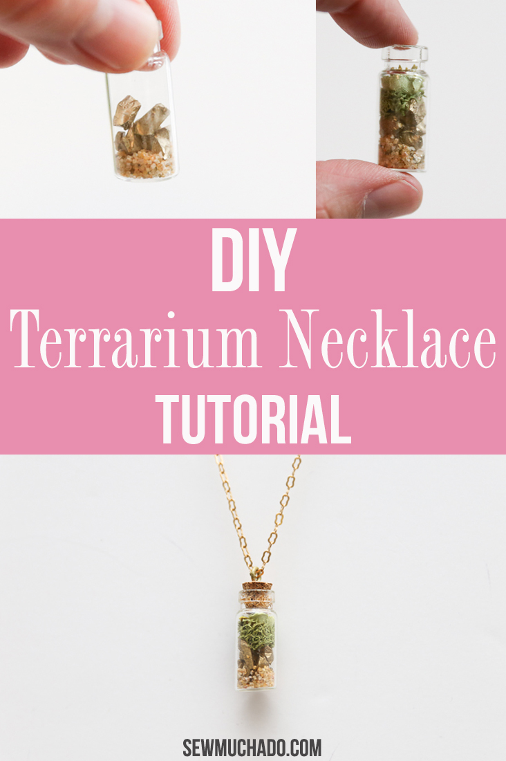 How to Make a Terrarium Necklace