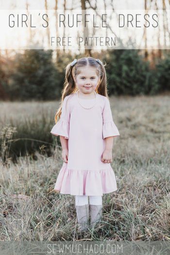 Girl's Free Ruffle Dress Pattern