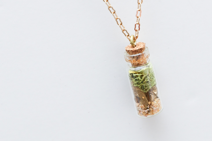 Diy Mini Faux Terrarium Necklace Tutorial Sew Much Ado