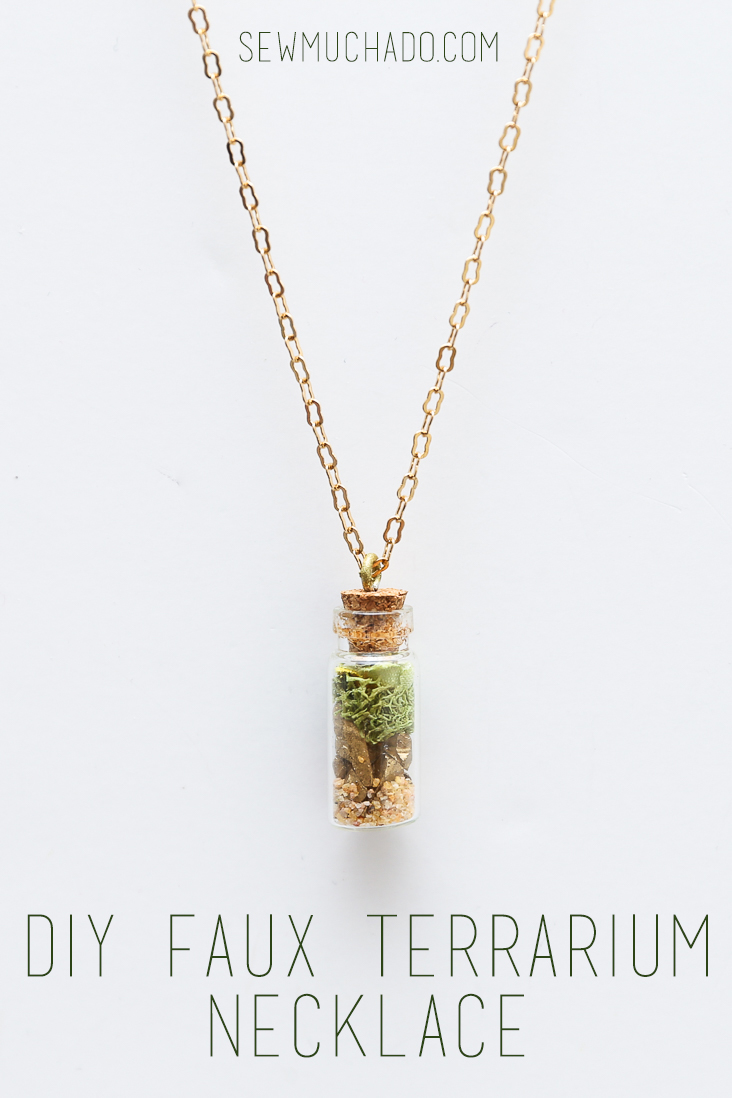 DIY Terrarium Necklace