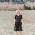Faux Suede Charleston Dress