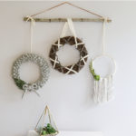 DIY Yarn Wreath Tutorial -3 Ways!